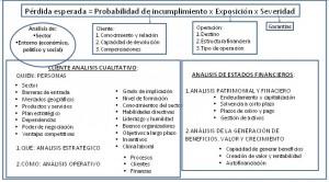 Evaluación del RATING Basilea